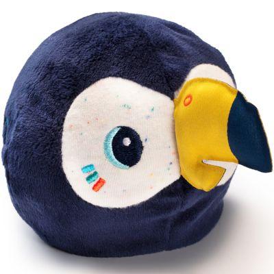 Hochet peluche réversible Pablo le toucan (10 cm)  par Lilliputiens