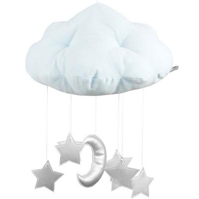 Mobile nuage vert mint  par Cotton&Sweets
