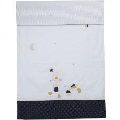 Housse de couette + taie d'oreiller Hello (100 x 135 cm)