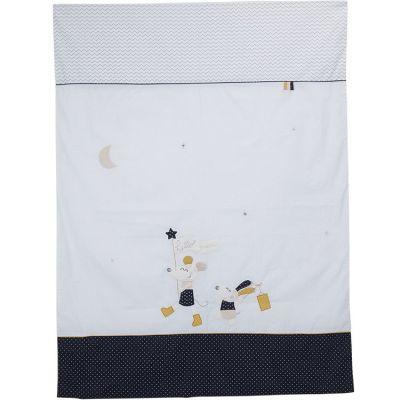 Housse de couette + taie d'oreiller Hello (100 x 135 cm)  par Sauthon