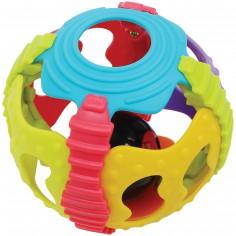 Balle à grelots Junyju multicolore