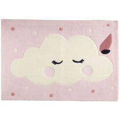 Tapis rectangulaire nuage Miss Fleur de Lune (90 x 130 cm)