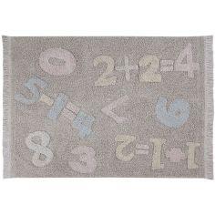Tapis lavable nombres (120 x 160 cm)