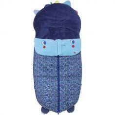 Chancelière d'hiver pour poussette Enjoy & Dream bleu (103 x 50 cm)