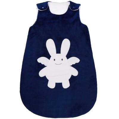 gigoteuse chaude ange lapin bleu marine tog 2 5 70 cm par trousselier. Black Bedroom Furniture Sets. Home Design Ideas