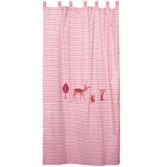 rideau bambi rose 145 x 280 cm taftan. Black Bedroom Furniture Sets. Home Design Ideas