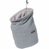 Vide poche à suspendre Sun gris et gris argent - Baby's Only