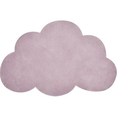 tapis coton nuage mauve 64 x 100 cm lilipinso. Black Bedroom Furniture Sets. Home Design Ideas