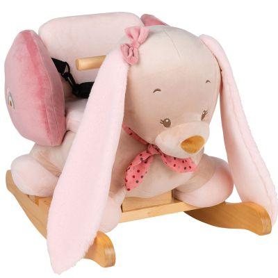 Bascule Pauline le lapin  par Nattou