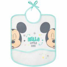 Bavoir à poche Hello Little One Mickey et Minnie