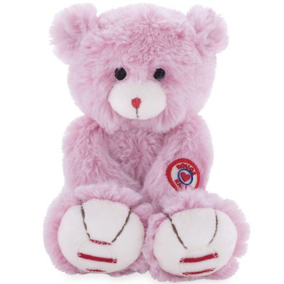 Peluche ours Rouge Kaloo rose (19 cm) Kaloo