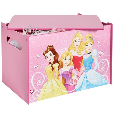 Coffre à jouets Disney princesses Worlds Apart