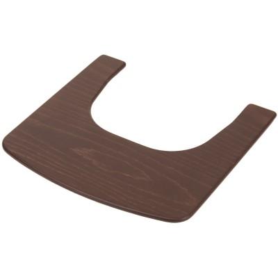 Tablette pour chaise haute Syt évolutive wengé  par Geuther