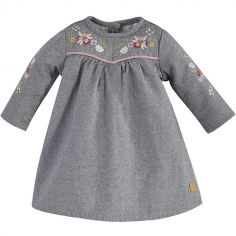 Robe Petit Lama grise (1 mois)
