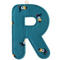 Lettre en tissu à suspendre R (9,5 cm)