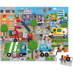 Mallette puzzle City (36 pièces)