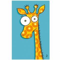 Tableau girafe (14 x 22 cm)