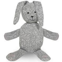 Peluche géante lapin Stonewashed gris (62 cm)