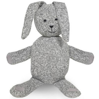 Peluche géante lapin Stonewashed gris (62 cm) Jollein