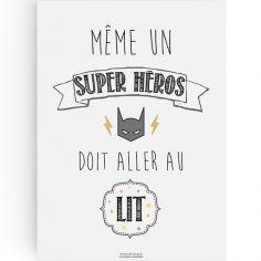 Affiche A3 Super héros