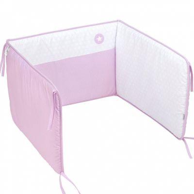 tour de lit pic rosa pour lit 70 x 140 cm cambrass - Tour De Lit 70x140