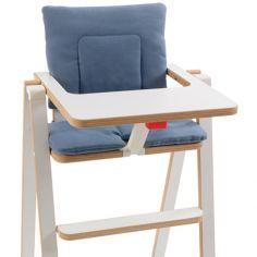 Coussin chaise haute Blue Velvet