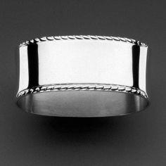 Rond de serviette Königskordel (métal argenté 150°)