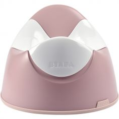 Pot bébé ergonomique Old pink
