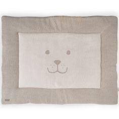 Tapis de parc Natural knit ours taupe clair (80 x 100 cm)
