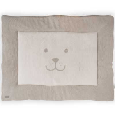Tapis de parc natural knit ours taupe clair 80 x 100 cm Tapis taupe clair