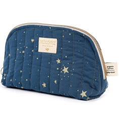 Trousse de toilette Holiday bleu nuit Gold stella