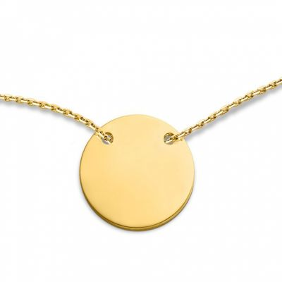 collier medaillon