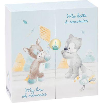 Ma boîte à souvenirs Tim & Tiloo  par Nattou
