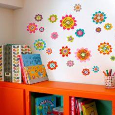 Stickers muraux Jolies fleurs