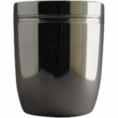 Timbale tonneau Filets personnalisable (métal argenté)