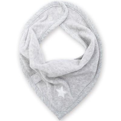 Bavoir bandana Stary frost jerry grey  par Bemini