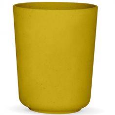 Gobelet en maïs jaune mimosa