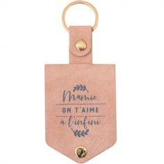 Porte-clés Mamie, on t'aime à l'infini