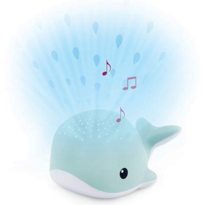 Projecteur d'ambiance Wally la baleine bleue