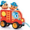 Camion de pompiers à tirer Terreno Truck - Djeco