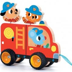 Camion de pompiers à tirer Terreno Truck