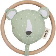 Hochet anneau ours Mr. Polar Bear