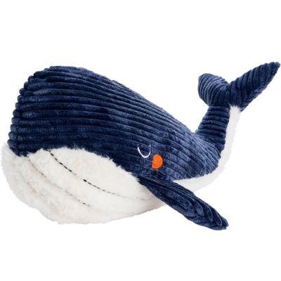 Peluche baleine Edgar bleue (55 cm)  par Amadeus Les Petits