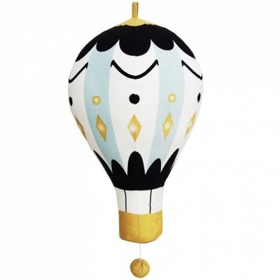 Suspension musicale Moon Balloon montgolfière (16 cm) Elodie Details