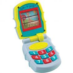 Téléphone bébé musical Sophie la girafe Fresh Touch