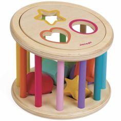 Boîte à formes Quizz des formes I wood (18 cm)