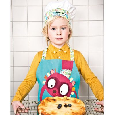 Tablier et toque Georges Little Chef  par Lilliputiens