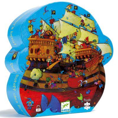 Puzzle Bateau de Barberousse (54 pièces)  par Djeco