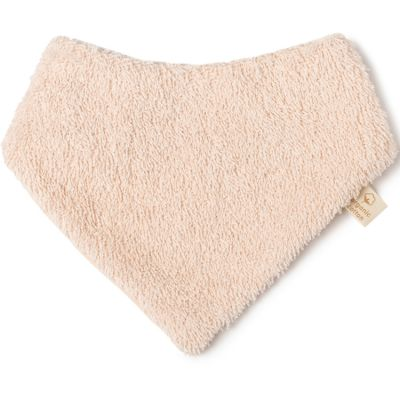 Bavoir bandana rose pâle So cute  par Nobodinoz