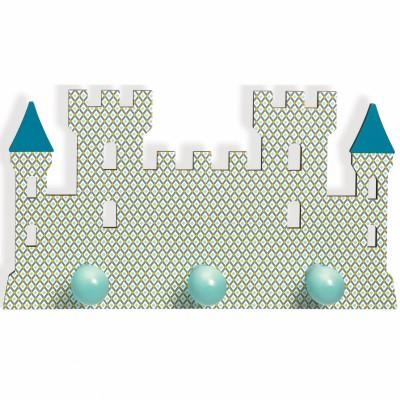 Porte-manteau Château Arthur  par Little big room by Djeco